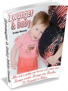 zwanger en baby e book cover